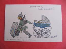 CPA - Illustrateur : PAYONNE - SOLDAT BOCHE - KAROLINE SERA CONTENTE !  - J.M.T. Paris - Guerra 1914-18