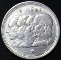 BELGIE  100 FRANK  BOUDEWIJN  1954  FRANS 2 SCANS - 1951-1993: Baudouin I