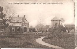 SAINT-VAAST-LA-HOUGUE (50) Le Parc De L'Ile Tatihou - La Maison Du Directeur En 1918 - Saint Vaast La Hougue
