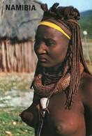 Namibia - Ovahimba Woman - Femme - Namibia