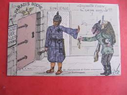 CPA - Illustrateur : PAYONNE - PARADIS BOCHE - J.M.T. Paris - Guerra 1914-18