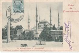 Constantinople La Mosquée Ahmed Et L'hippodrome - Turkey