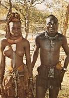 South West Africa - Ovahimba Couple - Woman - Femme - Namibia