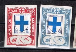 Lot  Marseille  Aviation à Identifier - Stamps