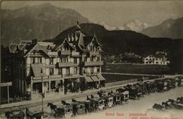 Suisse (BE) Interlaken // Hotel Jura 19?? - BE Berne