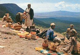 Kenya - Basket Sellers - Kenya