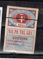 Lot  Autriche Télégraphe à Identifier - Stamps