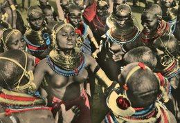 Kenya - Dance - Samburu Woman - Femme - Kenya