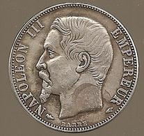 FAUSSE MONNAIE ? Peut être En Argent, Voir Description. Napoléon III, 2 Francs 1856 A. Voir Description - France