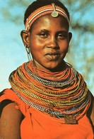 Kenya - Samburu Girl - Woman - Femme - Kenya