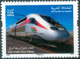 2019 - Train TGV Alburaq - Morocco (1956-...)