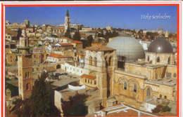 Israel - Postcard Unused  - Jerusalem - Holy Sepulchre  - 2/scans - Israel
