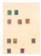 Lot  Péru Collection Timbres Fiscaux à Identifier - Stamps
