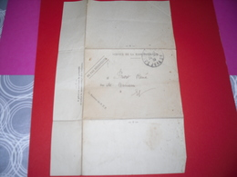 Lettre Pour ...!! (taxe  Poste Recepteur De Radiodiffusion) 1939    (jura 39400) - Postal Services