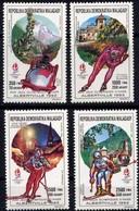 Madagascar - J.O. D'Albertville  - Bobsleigh à Quatre - Patinage De Vitesse, Messieurs - Ski Nordique - Super Géant, Mes - Winter 1992: Albertville