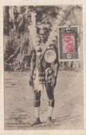 9AL1334 AFRIQUE OCCIDENTALE FRANCAISE SENEGAL DIOLA EN TENUE DE FETE 2 SCANS - Senegal