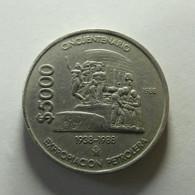 Mexico 5000 Pesos 1988 - Mexico
