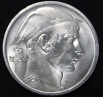 BELGIE  50 FRANC   BOUDEWIJN   1954  FRANS  2 SCANS - 1951-1993: Baudouin I
