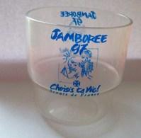 """SCOUTISME - GOBELET EN PLASTIQUE DU JAMBOREE SCOUTS DE FRANCE 97 """"Choisis Ta Vie!"""" - Scoutisme"""
