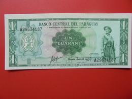 PARAGUAY 1 GUARANI 1952 PEU CIRCULER/NEUF - Paraguay