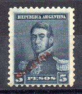 Sello Nº 109 Muestra En Rojo  Argentina - Argentina