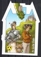 Luxemburg 2011 Mi Nr Blok 26, Draak, Ridder, Pedro, Pixel, Komiek, Comic - Luxemburg