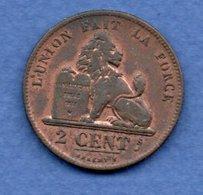 Belgique  -  2 Centimes 1835  -  Km # 4.2  --  état  TB - 1831-1865: Leopold I