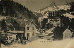 Suisse // Gare Des Avants (train) 1908 - Zonder Classificatie