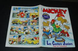 Journal De Mickey N° 2331 Avec Les Cartes Magiques Et Un Encart Abonne Toi à Mickey - Journal De Mickey