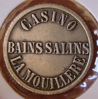 Jeton Casino Bains Salin De Besançon(25) LA MOULLERE - Casino