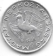 Hungary 10 Filler 1985 Km 572   UNC - Hungría
