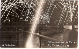Wilhelmshaven Matrosen Aufstand November 1918 10.11. Illumination Der Flotte Streik Revolution Revolte TOP-Erhaltung Ung - Grèves