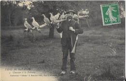 TYPES DU BAZADAIS : Chasseur à La Palombe (1915)*** - Bazas
