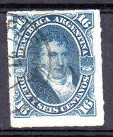 Sello Nº 34 Variante De Color  Argentina - Argentina