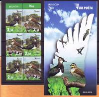 Bosnia BiH 2019 Birds Europa Booklet MNH - Bosnia And Herzegovina
