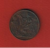 Médaille  -  25 Anniversaire De L Inauguration Du Roi  --  état  TTB - Royaux / De Noblesse