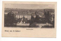 Gruss Aus ST. GALLEN ! Kantonsspital - SG St. Gall