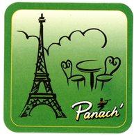 France. Panach'. Pelforth. Tour Eiffel Paris. - Sous-bocks