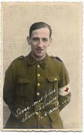 CARTE-PHOTO : Un Soldat D'Aywaille Prisonnier Au Stalag VIIIA - Personnages