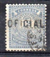 Sello Nº T-service 5  Argentina - Officials