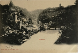 Suisse (FR) Fribourg // Ca 1900 - FR Fribourg