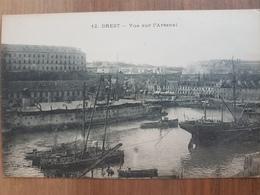 Brest.vue Sur L'arsenal.édition J.D 12 - Brest