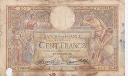 Banque De France 100 Francs L.O.M. 1928. - 1871-1952 Circulated During XXth