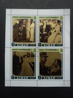 AJMAN Bloc Général De Gaulle Oblitéré - Stamps