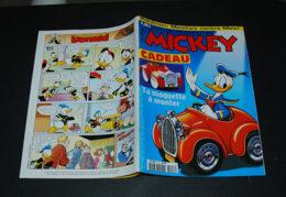 Journal De Mickey N° 2497 Avec La Maquette De La Voiture Donald à Monter - Journal De Mickey