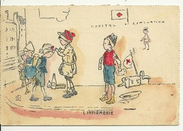 ILLUSTRATION / L'INFIRMERIE - 1900-1949