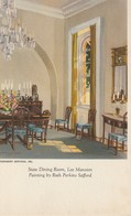 State Dining Room, Lee Mansion Painting By Ruth Perkins Safford - Paintings