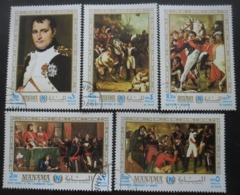 MANAMA Série N°36 Au 36D Napoléon Oblitéré - Stamps