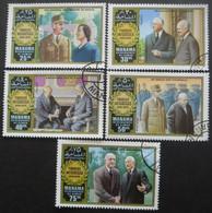 MANAMA Série N°58 Au 58D Général De Gaulle Oblitéré - Stamps