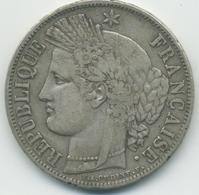 5 Francs Cérès (2ème République)1849 A - Le Franc 327/1 - France